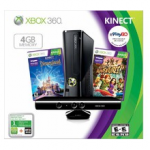 Xbox 360 4GB Kinect Deal | Holiday Bundle for $199.00 – Shipped