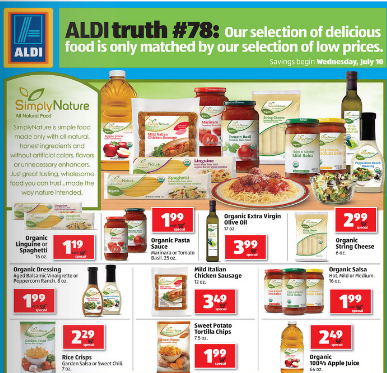 ALDI Simply Nature