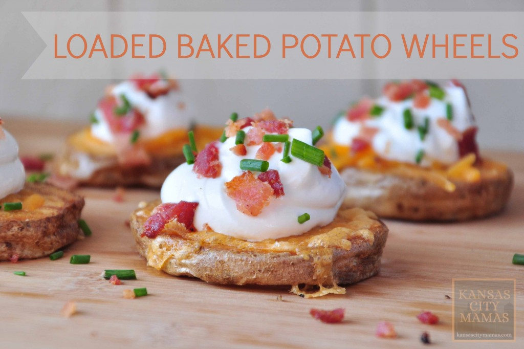 Loaded Baked Potato Wheel Recipe  KansasCityMamas.com