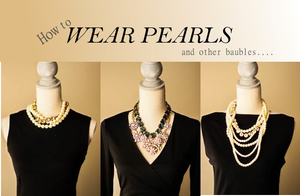 How to wear pearls and accessorize your little black dress for Jewelry accessories for black dress