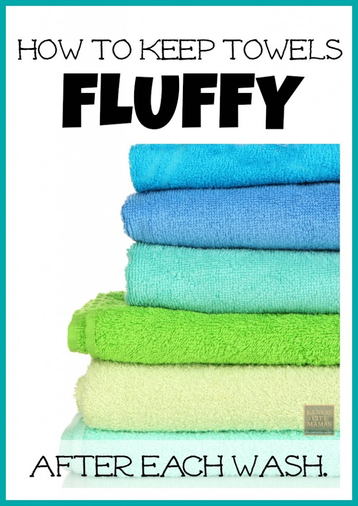 How To Get Fluffy Towels After Each Wash | KansasCityMamas.com
