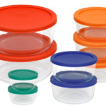 Pyrex 18-Piece Storage Set With Color Lids for $24.99 – Shipped