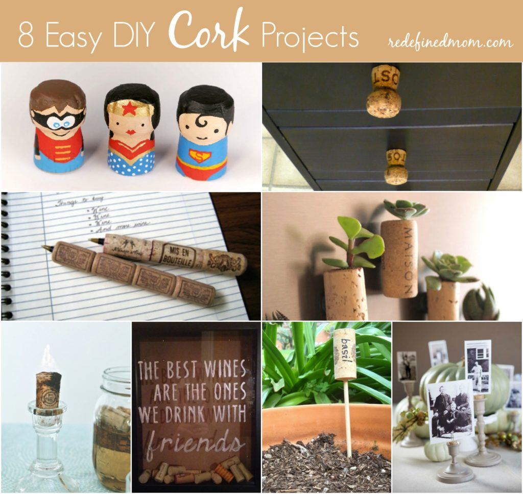 8 easy diy cork projects for Diy wine cork projects