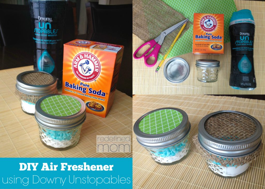 diy air freshener using downy unstopables