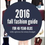 STYLE OVER 35 - Here is a 2016 Fall Fashion Guide For 40-Year-Olds With High End, Mid-Range and Budget Friendly Options.