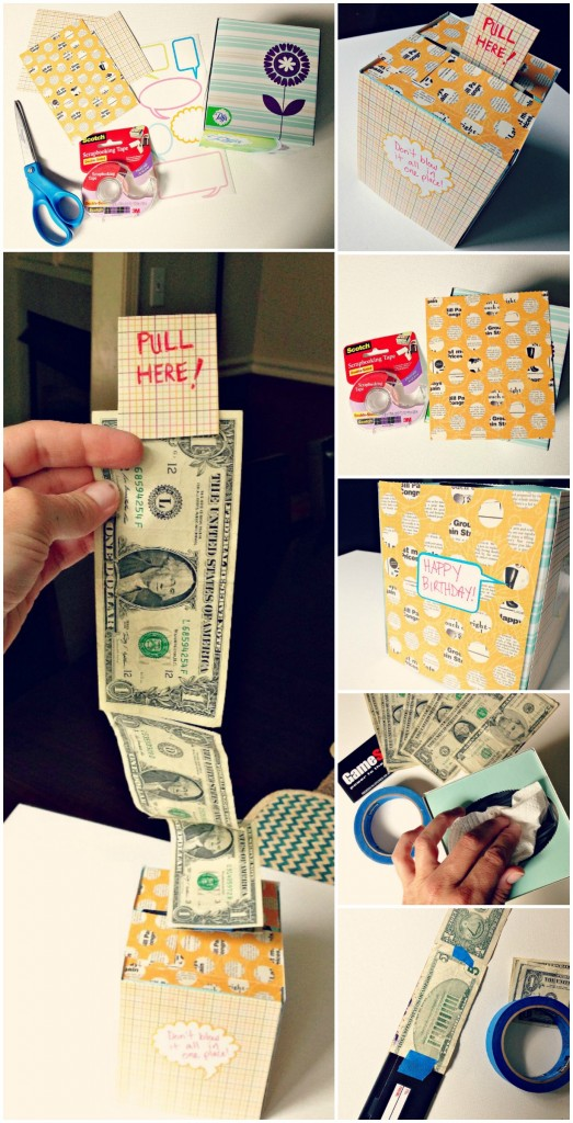 kleenex cash box Collage