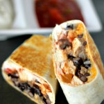 Healthy Chicken Burrito