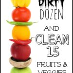 how to clean fresh fruits and vegetables with vinegar