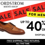 Nordstrom | Men's Half-Yearly Sale Starts Today {40% Off Retail}