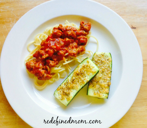 Easy Parmesan Baked Zucchini Recipe