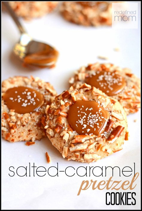 Salted Caramel Pretzel Cookie Recipe