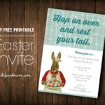 DIY Printable Easter Brunch Invite