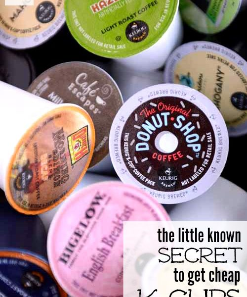 The Little Known Secret On How To Get Cheap K-Cups