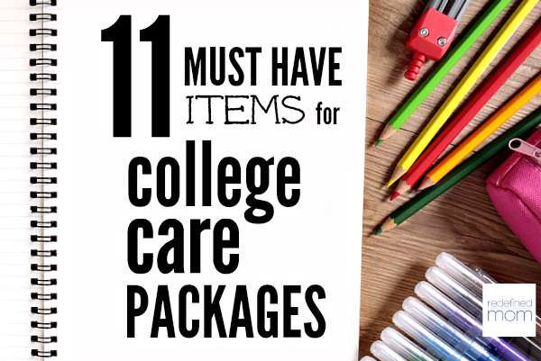 Guy or Girl? Freshman or Senior? Regardless of the age, here are 11 Must Have Items For College Care Packages. Believe me, they will thank you for them.