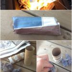 Love a fire? Hate getting it going? Here are the easiest Homemade Fire Starter Kits you'll ever make. Guaranteed to get the fire going fast.