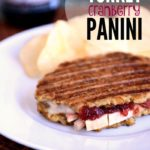 Crustless Turkey Cranberry Panini Recipe