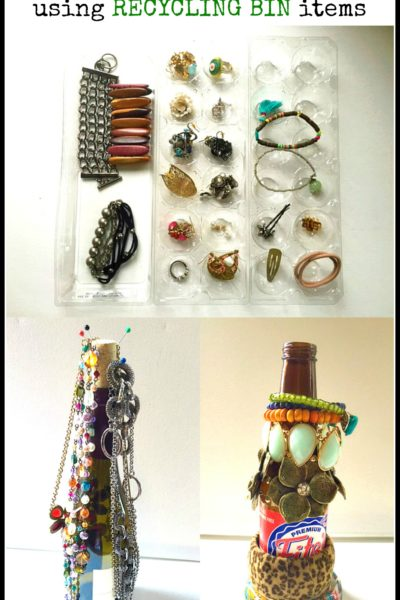 3 DIY Jewelry Organization Solutions Using Recycled Items